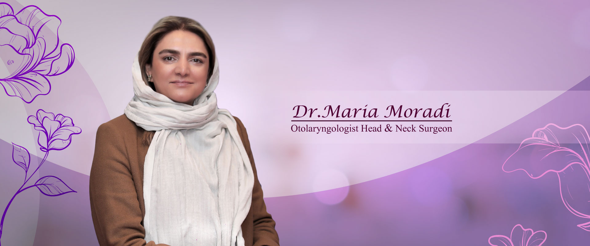 بنر دکتر ماریا مرادی